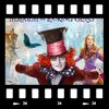 Cover Alice through the looking glass